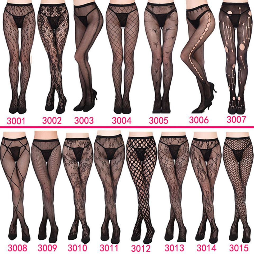81a7b7a9f92 2019 Women Pantyhose Fashion Girls Sexy Tattoo Lace Tights Female Fishnet  Panty Stockings Black Lace Hosiery Lingerie From Oott