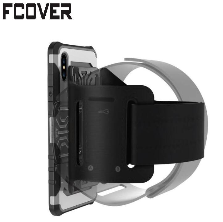 Mobile Phone Accessories Cooperative Rotating Protective Hard Shell Case For Iphone 6 Armband 2 In1 Running Sport Wrist Bag Holder Armbands