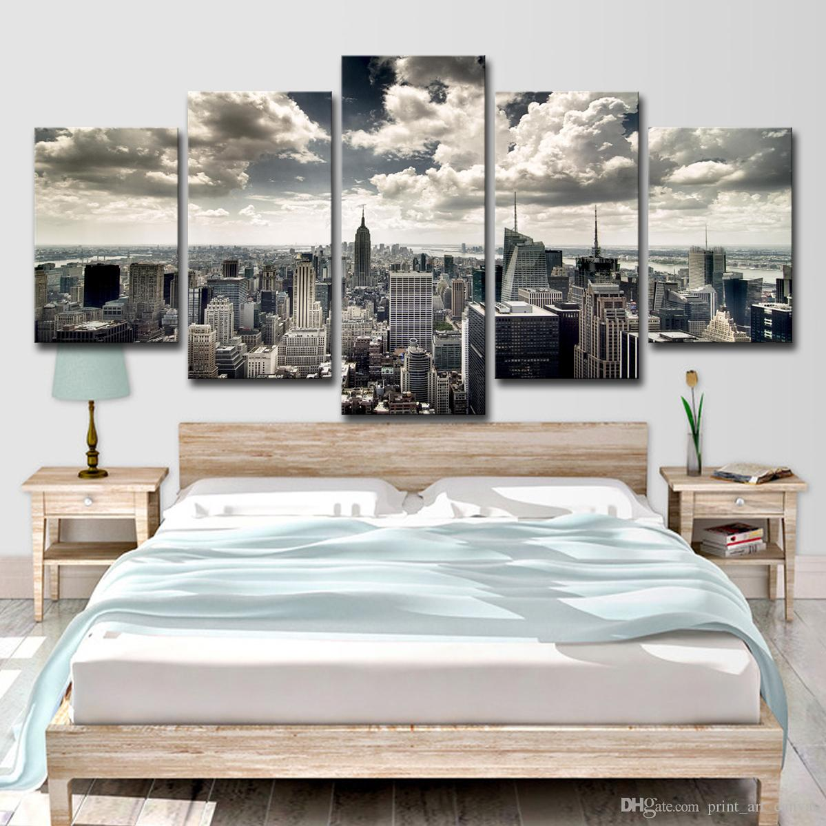 2019 Canvas Wall Art Hd Prints Pictures Living Room New York City