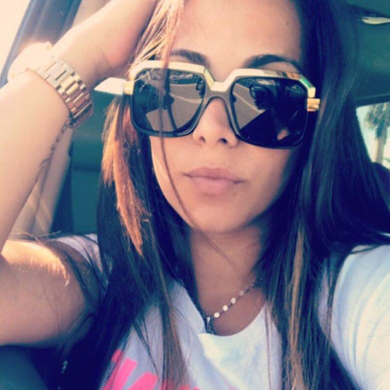 5c345827aa9 2018 Trend Women Luxury Designer Sunglasses Oversized Metal Frame Mens Designer  Sunglasses Top Quality Fashion Sunglasses UV400 Wholesale Online Eyeglasses  ...