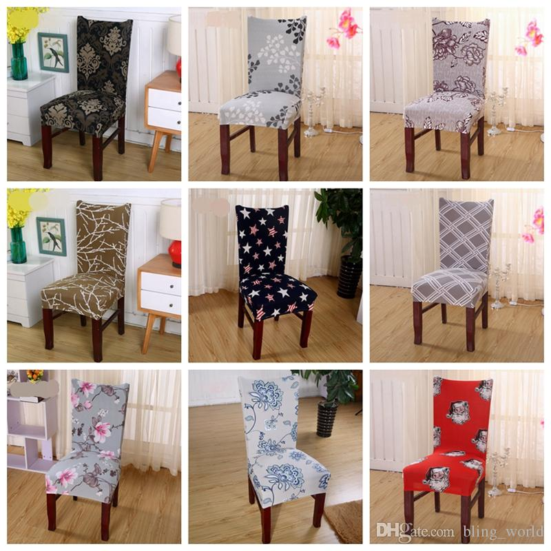 Astonishing Spandex Chair Covers Elastic Dining Seat Cover Anti Dirty Removable Slipcovers Banquet Wedding Dinner Restaurant Decor 37 Designs Yw1521 Download Free Architecture Designs Scobabritishbridgeorg