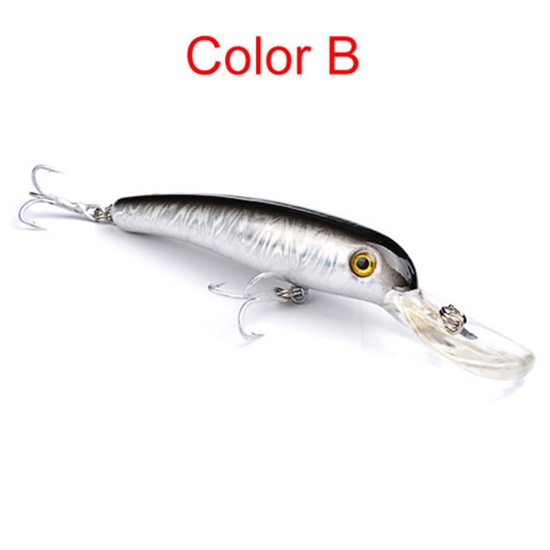 Retail Box Package 11.5cm 14g Ice Fishing Crankbait Live Target Lure Hooks Minnow wobbler plastic Perch Swimbait