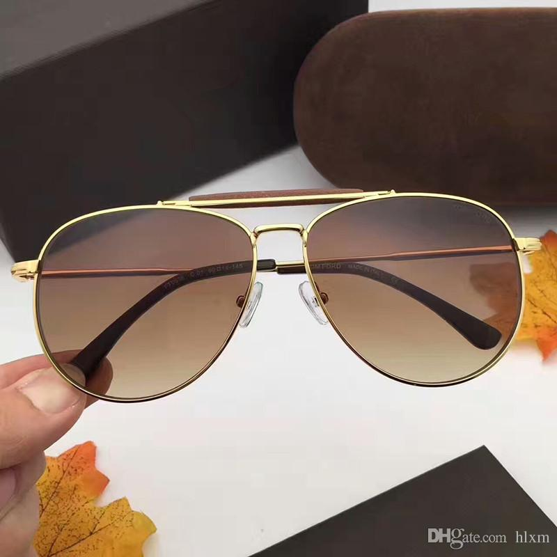 Compre Marca De Design De Óculos De Liga De Couro Ponte Nariz Duplo Feixe  Sapo Óculos De Sol FT0536 De Condução Para Homens Mulheres Óculos De Sol  Masculino ... 5ae7fe2d1b