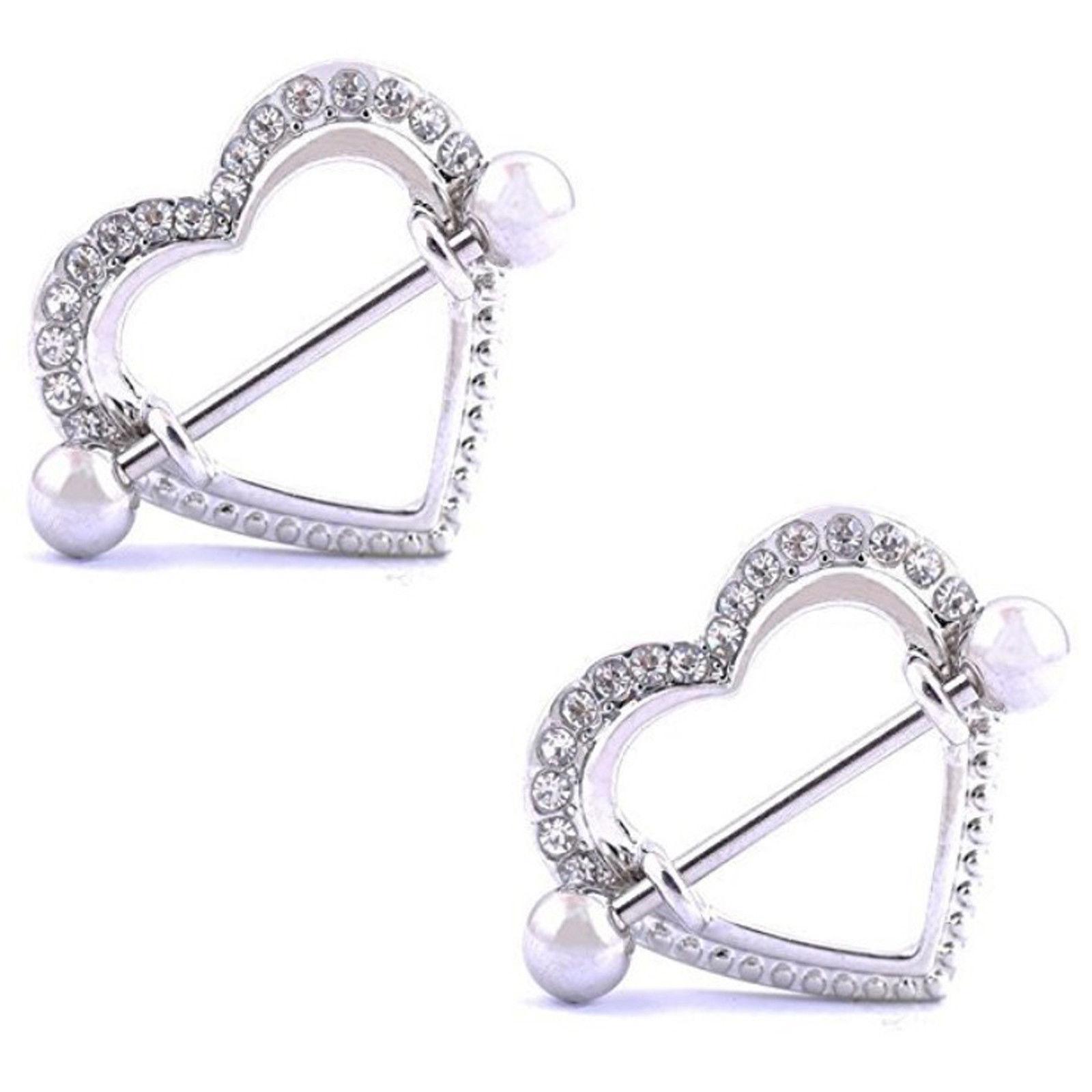Heart Nipple Rings Jewelry 67d07aef8957