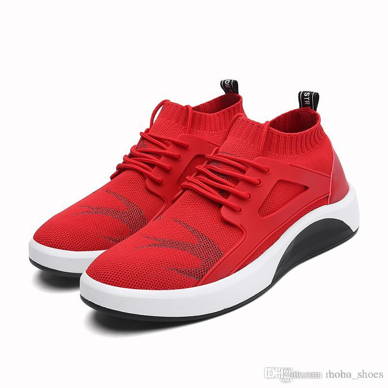 d0e0107fe19f9 Men Shoes 2018 Kanye West Fashion Mesh Light Breathable Men Casual Shoes  Men Sneakers Fashion Trainers For Mens Flats Casual Shoes XL-8006 Men Shoes  ...