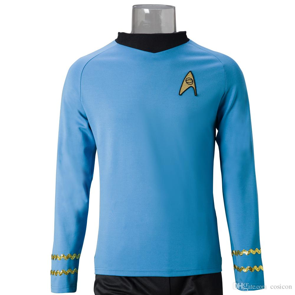Star Trek Costume  The Original Series Cosplay Spock Sciences Cosplay Shirt Halloween And Christmas Cosplay Costumes Boys Halloween Costume Costume Themes ...  sc 1 st  DHgate.com & Star Trek Costume : The Original Series Cosplay Spock Sciences ...