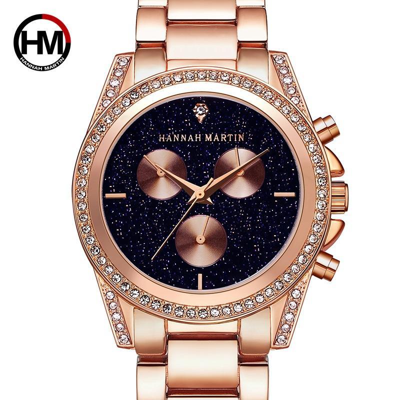 Women Watches Luxury MK Diamond Watch 2018 New Rose Gold Fashion Wristwatch  Quartz Steel Band Ladies Watch Designer Watch Discount Watch From Nenedi 152cd01c5ec7