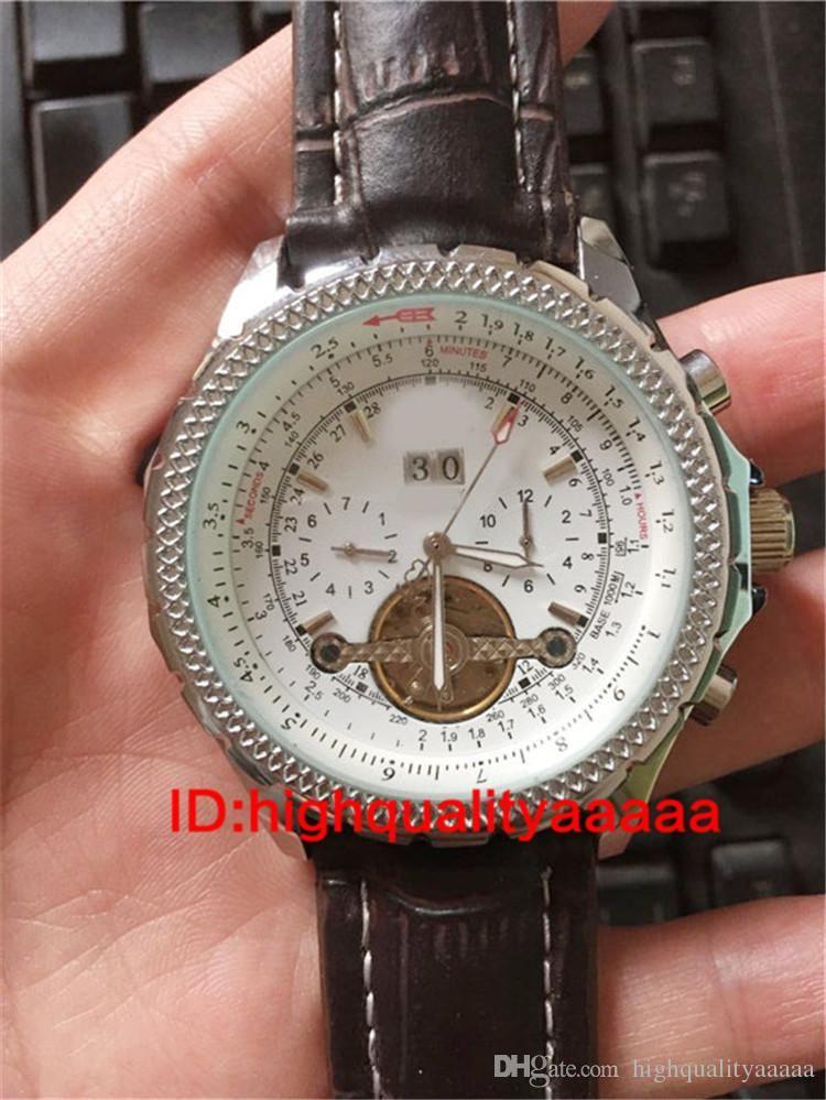 fcd621f31cb4 Compre Reloj Piloto Relojes Para Hombres Automático Mecánico Volante  Calendario Diamantes Diseño Clásico Café Cuero Correa Hombre Reloj Relogio  A  38.58 Del ...
