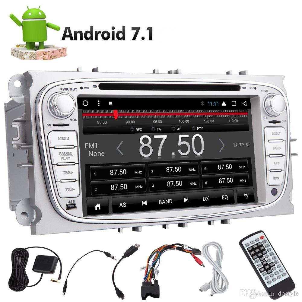 In Dash EinCar Android 7.1 Octa Core Double 2Din Car DVD CD Player for Ford Double Din Autoradio Radio GPS Car Video