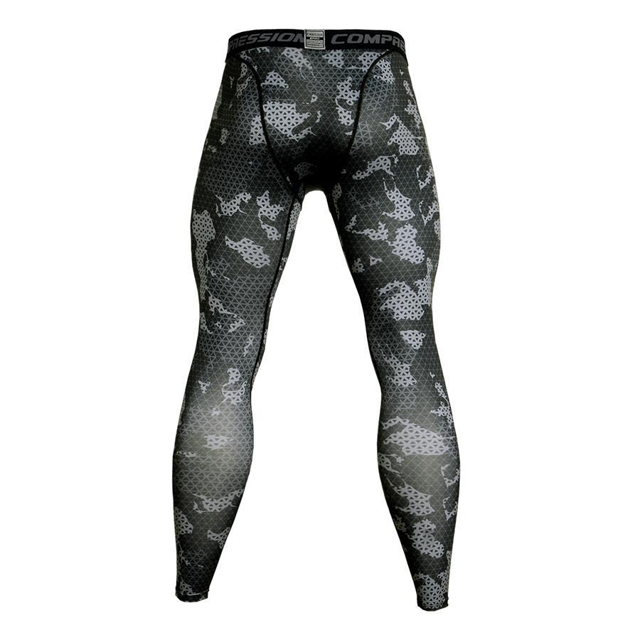 Sportbekleidung Camouflage Compression Sportswear Laufen Strumpfhosen Männer Fußball Training Jogging Hosen Männer Fitness Sport Leggings Gym Hose Männlichen Strumpfhosen