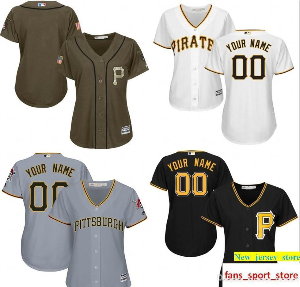 size 40 02317 148b0 Top Quality Ph Pirates Authentic Personalized Jersey 2016 Double Stitched  Cool Base Custom Women s Baseball Jerseys S-2XL