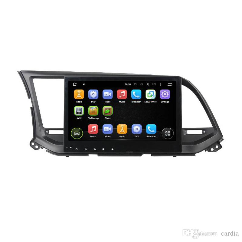 Car DVD player for HYUNDAI Elantra 2016 10.1inch Andriod 6.0 with GPS,Steering Wheel Control,Bluetooth,Steering wheel control,Radio