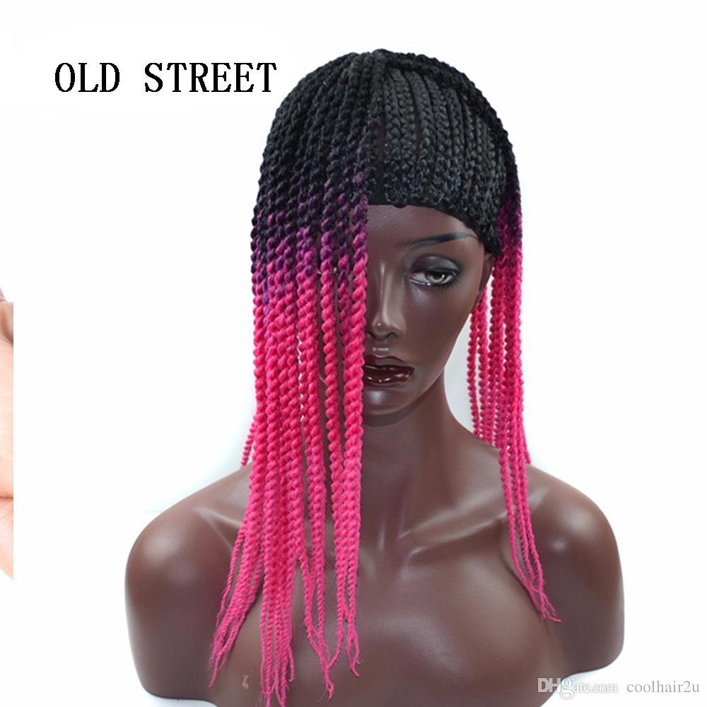 Cornrow парик Cap для изготовления париков регулируемый черный цвет вязания крючком плетеный ткацкий колпачок кружева Elasti Hairnet укладка волос инструмент