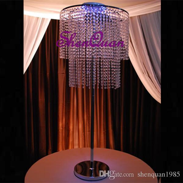 Shenzhen prezzo di fabbrica di alta qualità decorazione di nozze ricaricabile multicolor led sotto centrotavola di luce vaso di nozze matrimoni