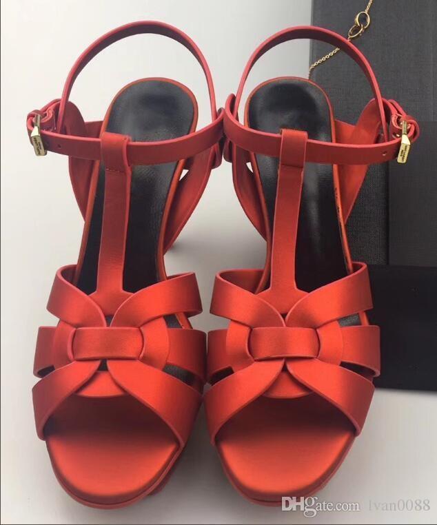 2018 hot vente femmes talon épais sandales chaussures bureau dame casual bas épais sandales vert talons courts filles mode chaussures noires 9 # T02