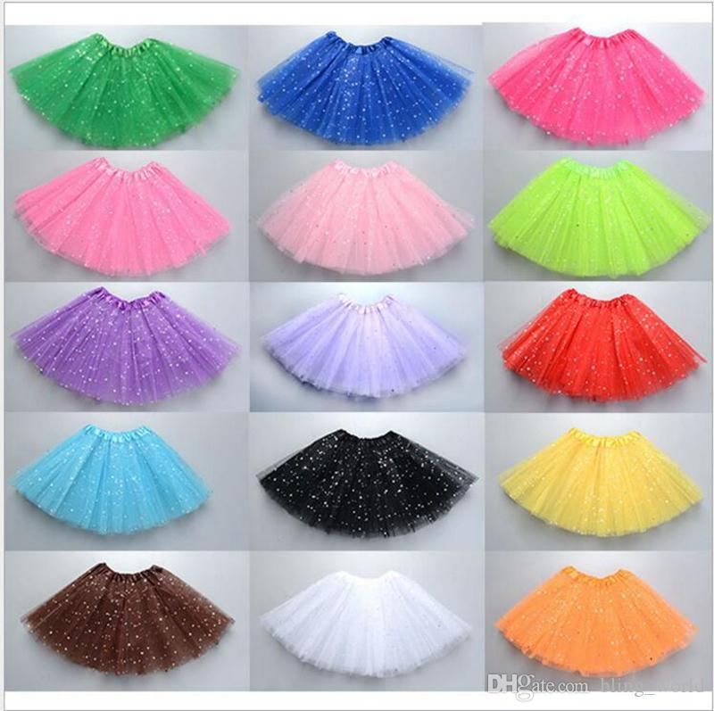 720da024df461 Girls Tutu Skirts Tulle Skirt Kids Dancing Pettiskirt Dancewear Ballet  Skirts Costume Princess Mini Dress Baby Girl Clothes YL347 Girls Tutu  Skirts Tulle ...