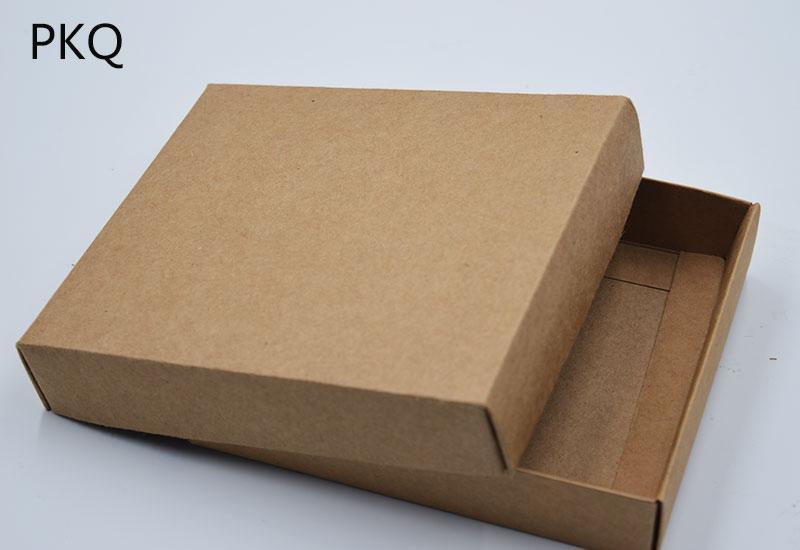 acheter 7.31 boîte d'emballage cadeau en papier kraft, boîte À