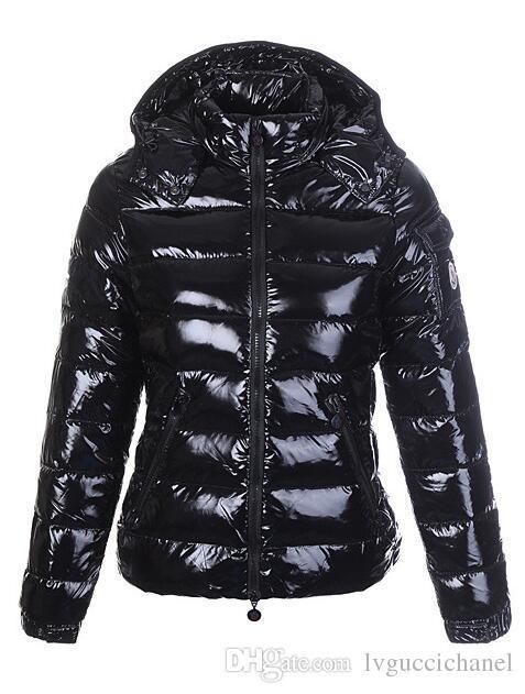 size 40 e95fd 6600d Frankreich Marke Frauen Winter Casual Daunenjacke Daunenjacke Damen Outdoor  Pelzkragen Warm Federkleid Wintermantel outwear Jacken M009