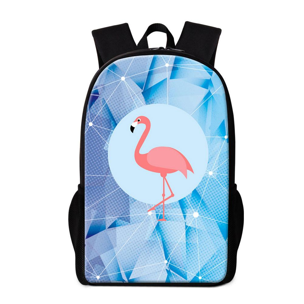 Flamingo Printed School Backpack Primary Students Animal Bookbag Cute Back  Pack For Girls Personalized Satchel Rucksack Mochila For Children Mens  Backpacks ... 2a432836151b5