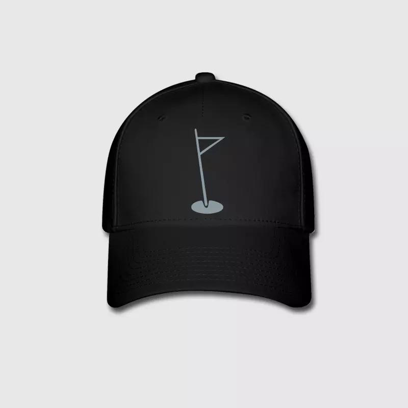 02d9156ca0e A hole in one Graphic Embroidery Customized Handmade Golf Sports Outdoors  Hip Hop Fashion Casual Woods Novelty Curved Dad Hat Cap Hat From Yongq