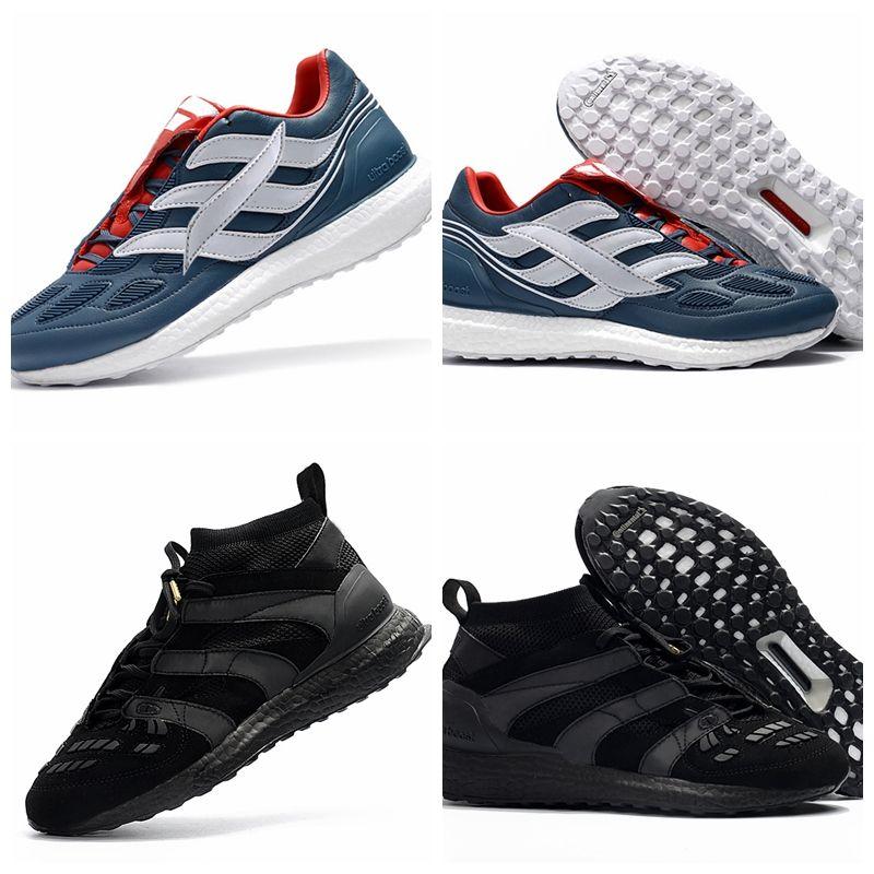 2018 David Beckham DB Predator Accelerator Ultra Boost UB Mens Running Shoes  Soccer Football Boot LTD Triple Black Man Ultraboost Sneakers Ultra Boost  ...