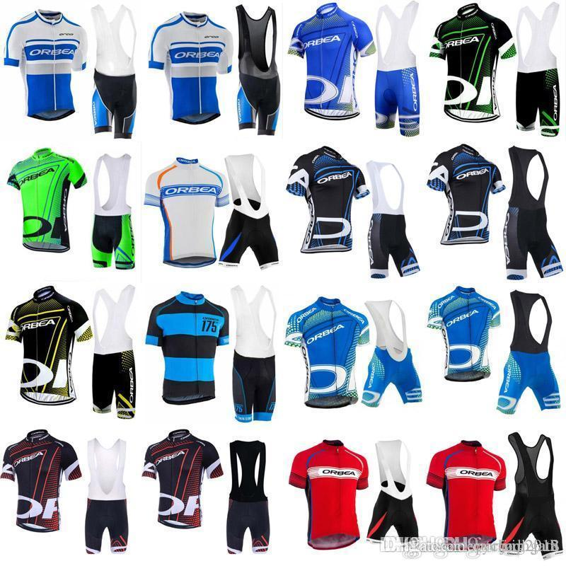 ORBEA 2018 Men cycling jersey maillot ciclismo Bicycle Short Sleeve Shirt Ropa ciclismo MTB Bike Bib Shorts Set C3101