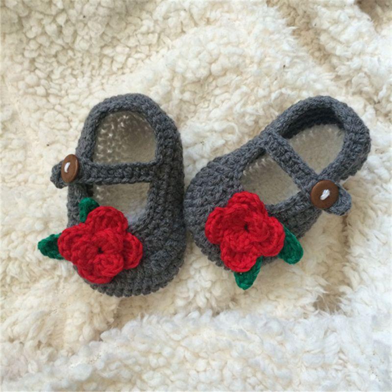 Shoes Tejidas A Mano White Newborn Summer Bebés Baby De Zapatos Plum Qyflyxue Para Crochet Yarn Sandalias Cotton mwPy80vNnO