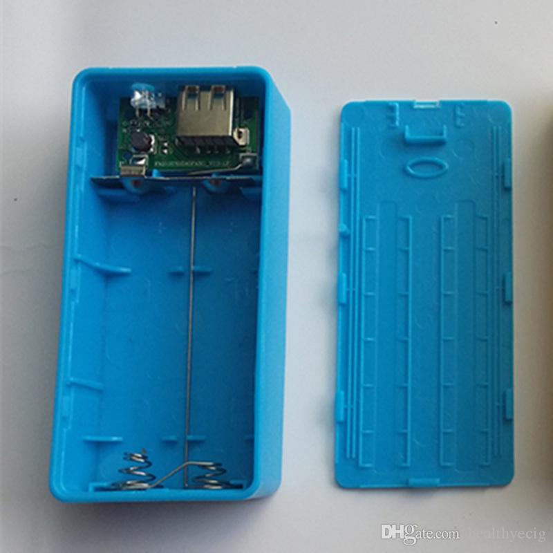 5V 1A 2 x 18650 Battery Power Bank Case With LED DIY Box Charger For Cell Phone