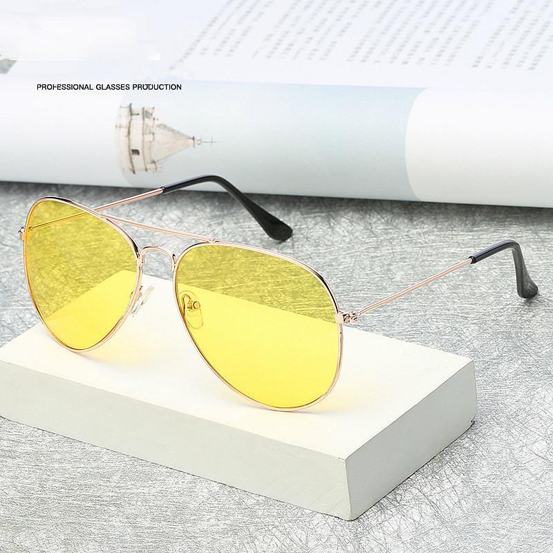 aa6d2b1a930 Aviation Night Vision Polarized Sunglasses Men Women Goggles Glasses ...