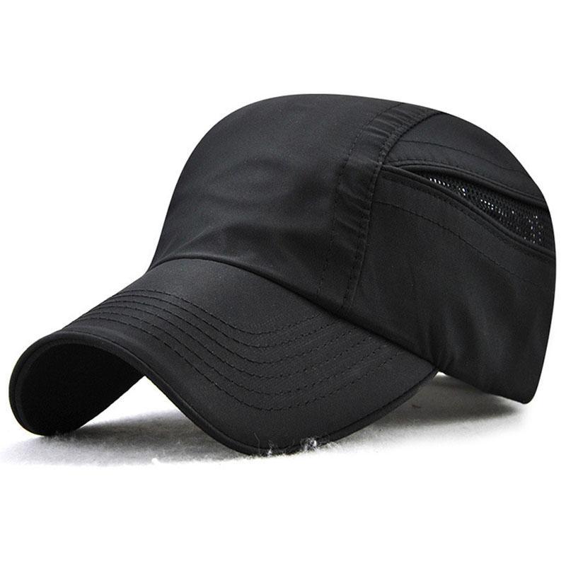 JAMONT Cap Casual Sports Hats Mesh Men Baseball Caps Men Quick Dry ... 1bf727851d61