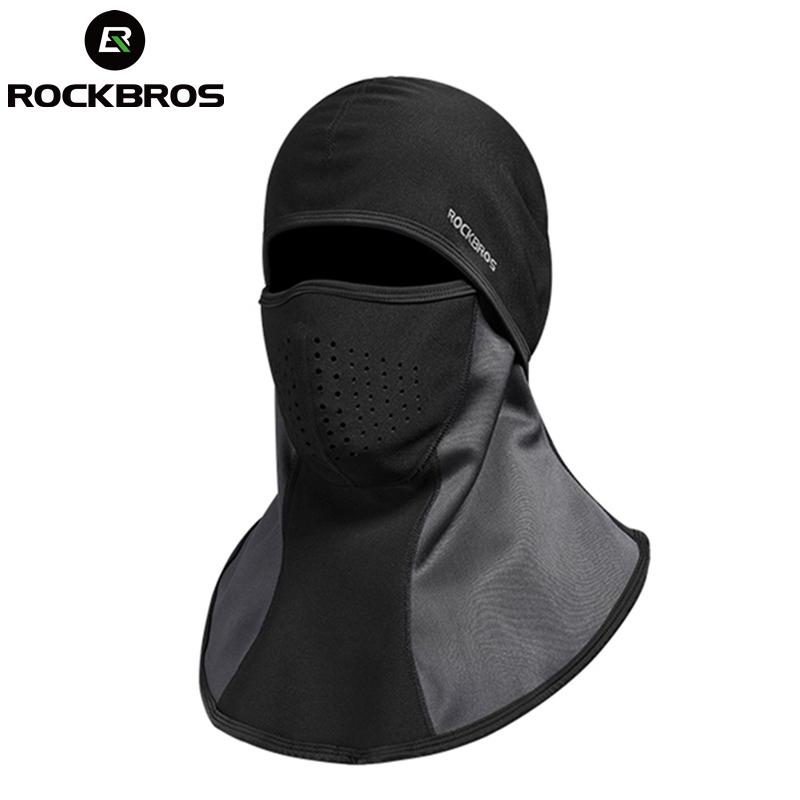 2019 ROCKBROS Hiking Cap Climbing Mount Headgear Neck Bibs Rainproof Fleece  Face Mask Scarf Dustproof Filters Cycling Men Women Caps From Peniss 4d34060133b