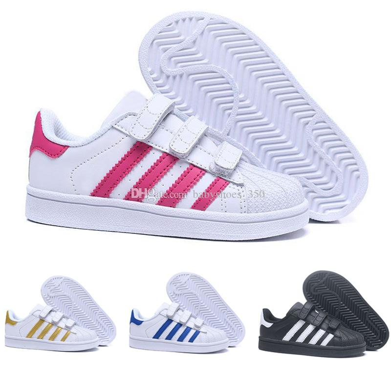 Adidas Superstar 2017 Originals Superstar Blanco Hologram Iridescent Junior Superstars 80s Pride Sneakers Super Star Mujeres Niños Deporte zapatillas