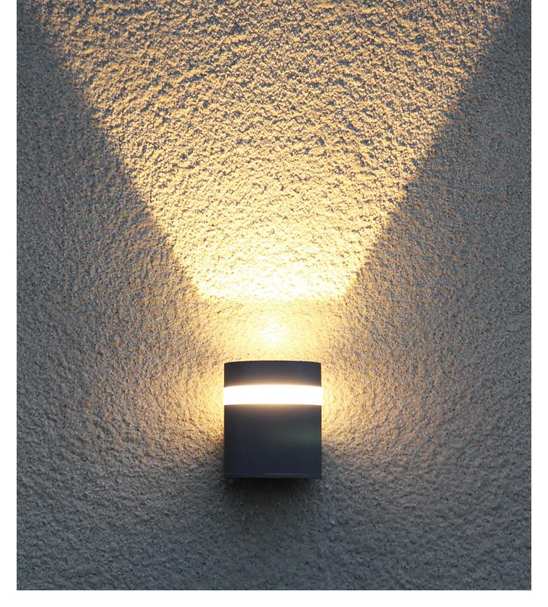 483b9d28f 2019 Factory Luces Led Exterior Wholesale Luz Exterior 6W LED Outdoor Wall  Light Amazon IP65 LED Decoration Wall Lighting De Pared From Geylight2, ...