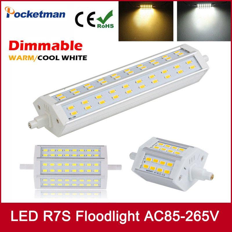 De J189 Gratuite Dimmable Ampoules J78 R7s Lumière J118 118mm 78mm Lampe Halogène Remplacer Led Maïs 5730 Livraison IWED9H2Y