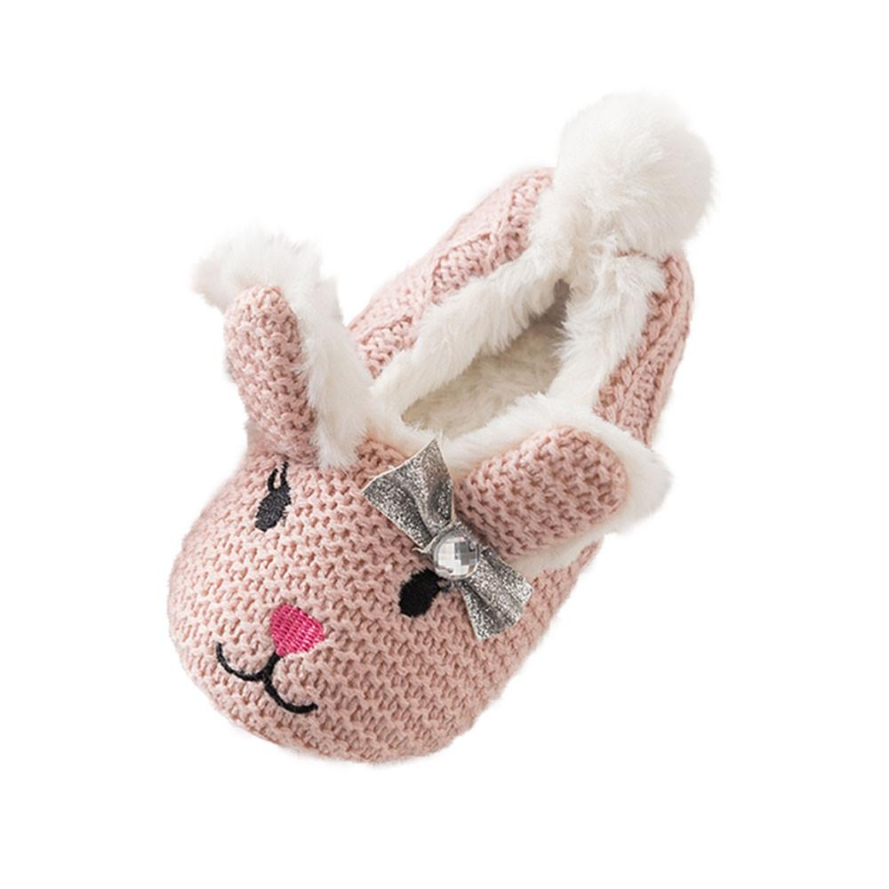 a4c432aac21d 2019 Newborn Baby Boy Girl Cartoon Animal Image Shoes Toddler Shoes Anti  Slip Home Warm Baby Moccasins Footwear From Breenca