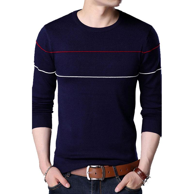 694959a6a Cheap Mens Round Neck Knitted Sweaters Best Korean Men Winter Sweater
