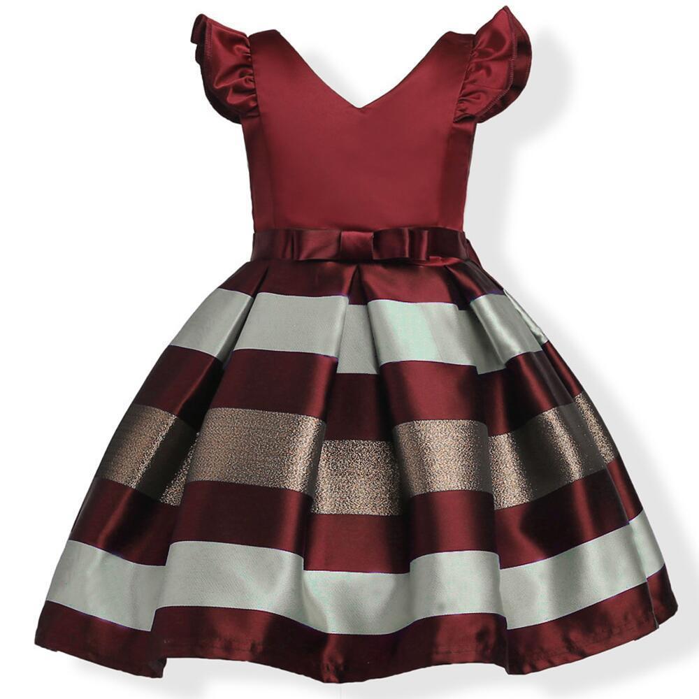 e3a0d100e4d4 Baby Girl Tutu Dress Flower Girls Party Wedding Princess Dress ...