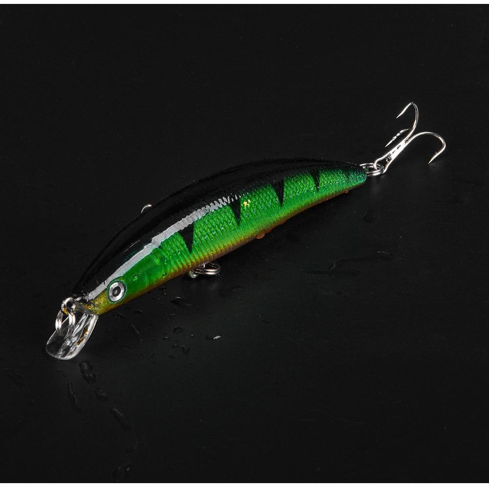 Yeni Sığ Dalış Yapay Balık Evrensel Nehir Tatlı Su Balıkçılık yemler 11 cm 11g 3D Wobbler Lazer cazibesi hooks