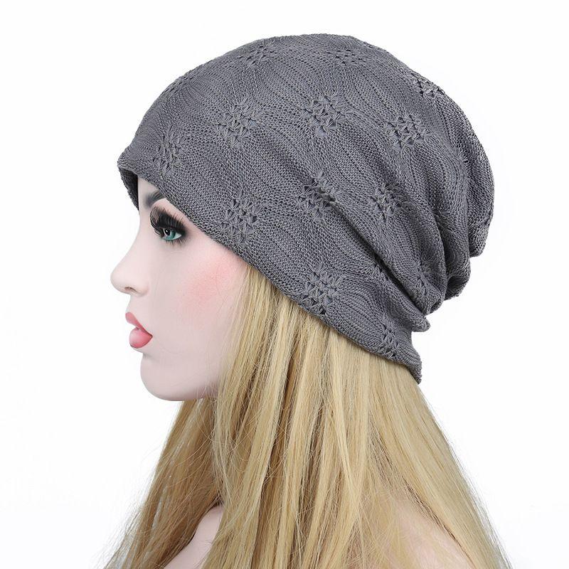 2e068070df4 Women S Spring Autumn Hat Lace Lady Hip Hop CapTurban Caps Skullies Hats  For Women Muslim Hijab Hats Winter Warm Knitted Hats Knit Cap From  Wonderliu