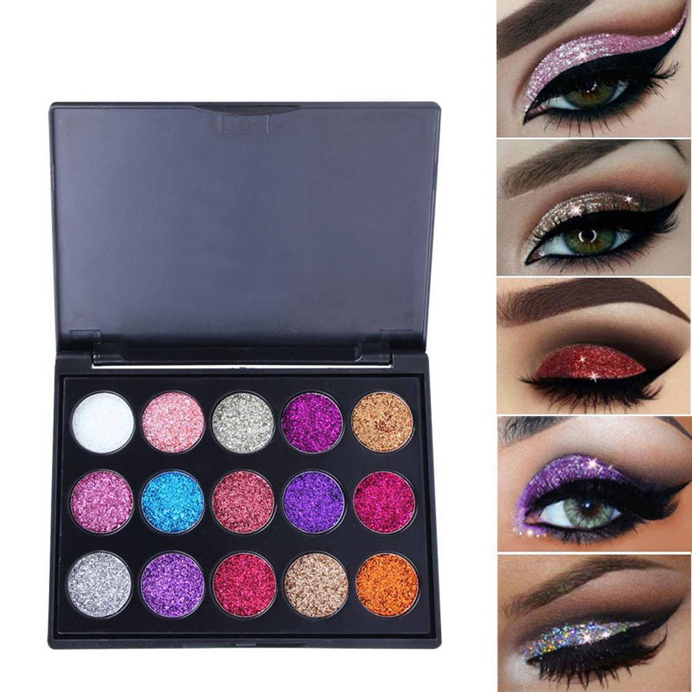 Beauty Essentials 35 Colors Cosmetics Eyes Lip Face Makeup Glitter Shimmer Powder Monochrome Eyes Baby Bride Pearl Powder Glitters Shining Make Up Beauty & Health