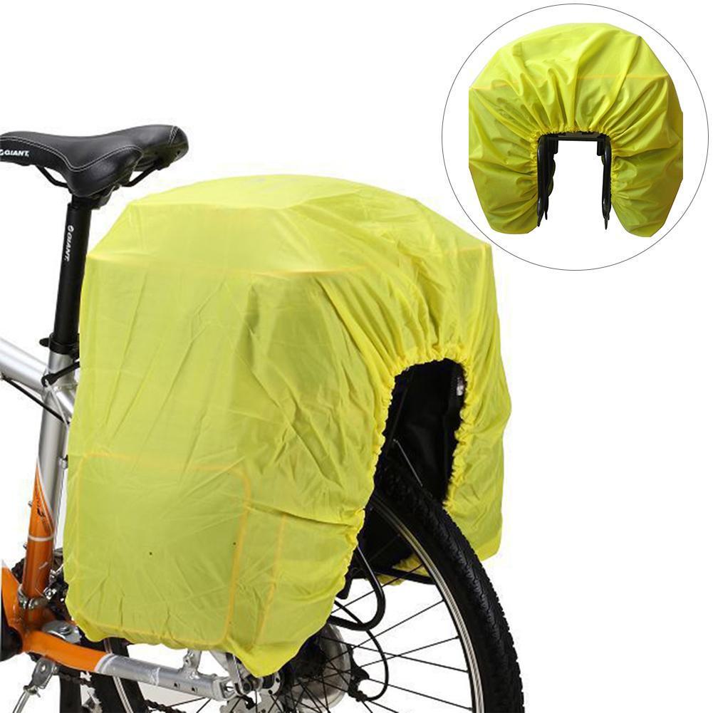ee63f06cb Compre Saco De Ciclismo Capa De Chuva Para Bike Rack Bag Bicicleta Da  Motocicleta Assento Traseira À Prova De Chuva Capa De Carga À Prova D  Água  À Prova De ...