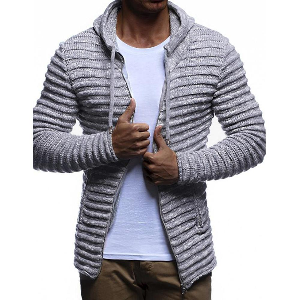 3ba96907cb Loldeal Cardigan Sweater Jacket Solid Color Striped Sweater Long Sleeve  Color Hooded Tracksuit Casual Cardigans Cheap Cardigans Loldeal Cardigan  Sweater ...