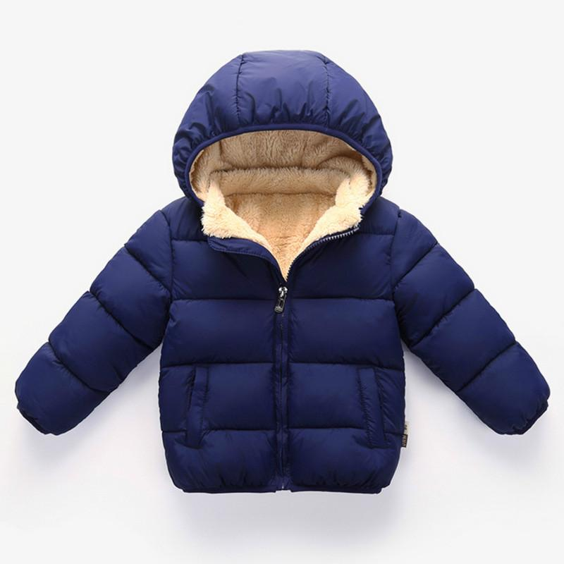 d88e6912fe3f New Winter Baby Kids Down Coat Boys And Girls Warm Down Cotton ...