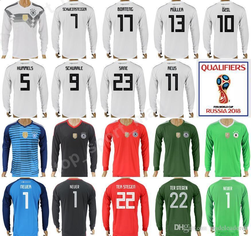 78f244f38 ... discount code for 2018 world cup germany long sleeve white soccer jersey  11 miroslav klose 10