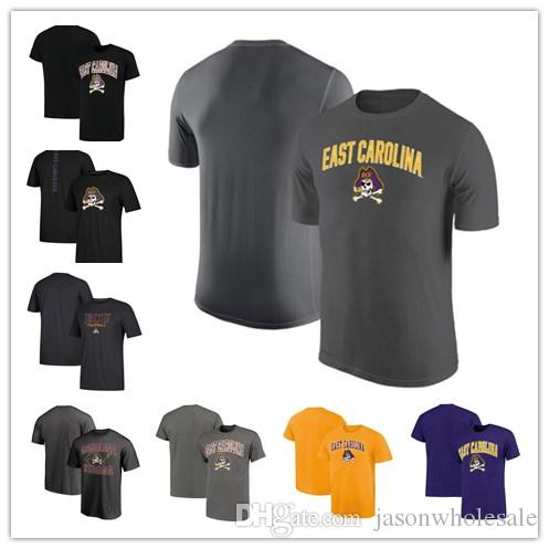 f6d56a92 2019 Mens East Carolina Pirates Campus School Logo Performance T Shirt  Black Purple Grey Orange Size S XXXL From Jasonwholesale, $15.0   DHgate.Com