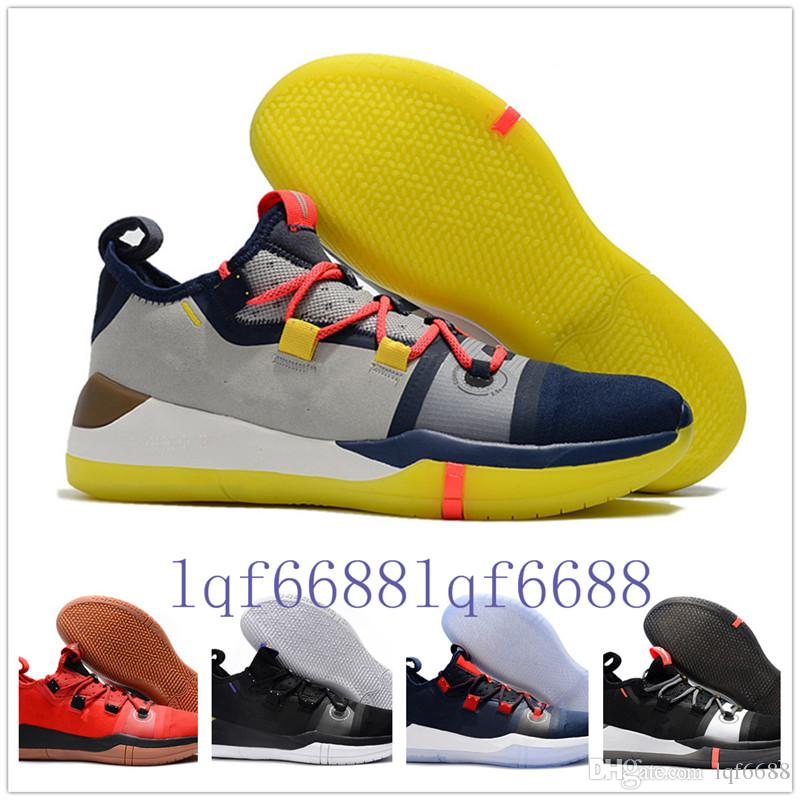 1cd61f3d94d 2018 New Kobe AD EP Mamba Day Sail Wolf Grey Orange Multicolor Casual Shoes  For AAA+ Quality Mens Trainers Sports Sneakers Size 7 12 Canada 2019 From  ...