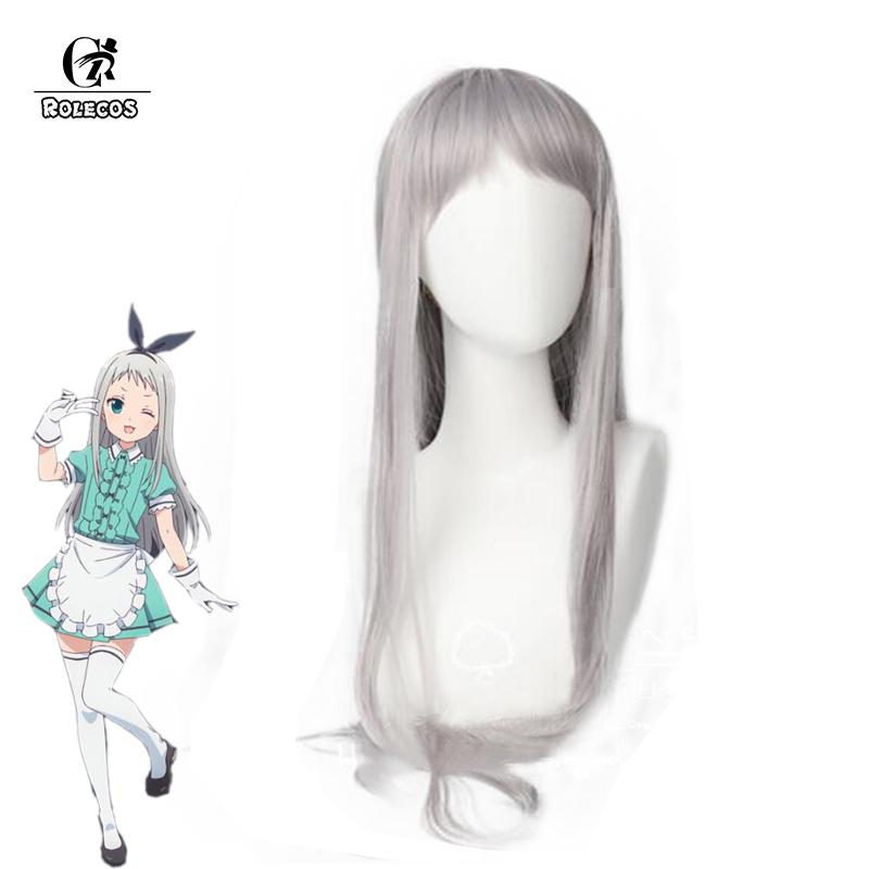 2019 ROLECOS Hideri Kanzaki Hair Blend S Cosplay Synthetic Hair Anime  Cosplay Headwear Stile Cafe Sadistic Women Synthetic From Trousseau f2443fd80852
