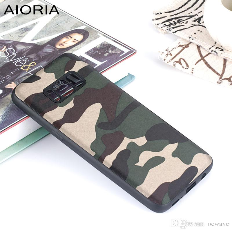 quality design 6946e a3936 Camouflage case for Samsung Galaxy S9 Plus S7 edge soft TPU with pattern  skin covers coque for S8 Plus fundas for Note 8