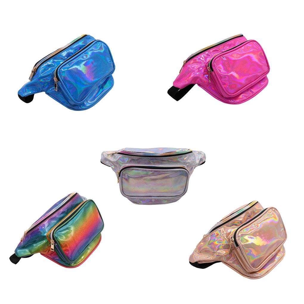 891a29a752fb Women Girls Waist Bag Casual Fanny Pack Women Shiny Holographic Belly Bum  Bag Camping Sports Phone Pouch Cheap Bags Side Bags From Hotbuybuy, $25.2   DHgate.