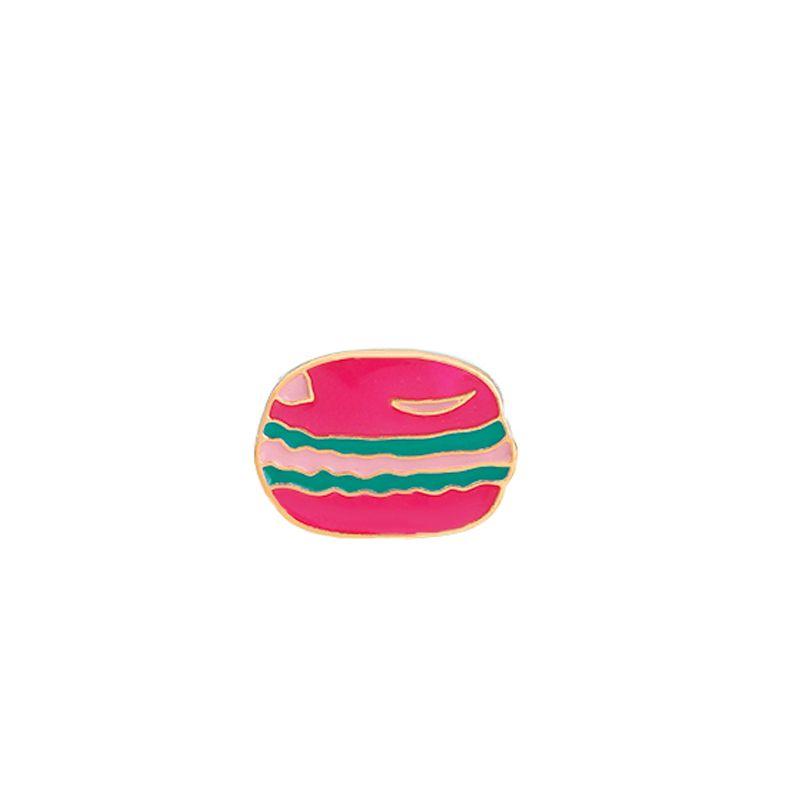 Fashion Cute Cartoon Brooch Pins Animal Mini Cat Donuts Enamel Lapel Pins Badge for Women Girls Clothing Bag